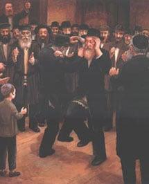 Chassidim Dancing 2